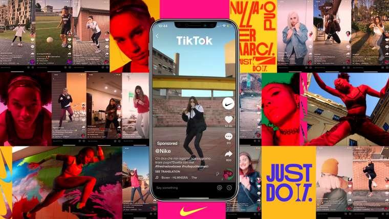 Nike incorporará rutinas de baile de TikTok a su app de entrenamiento