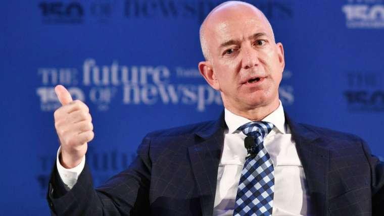 Gracias a Amazon, Jeff Bezos rompe un nuevo récord de riqueza: Ahora vale 202 mil mdd