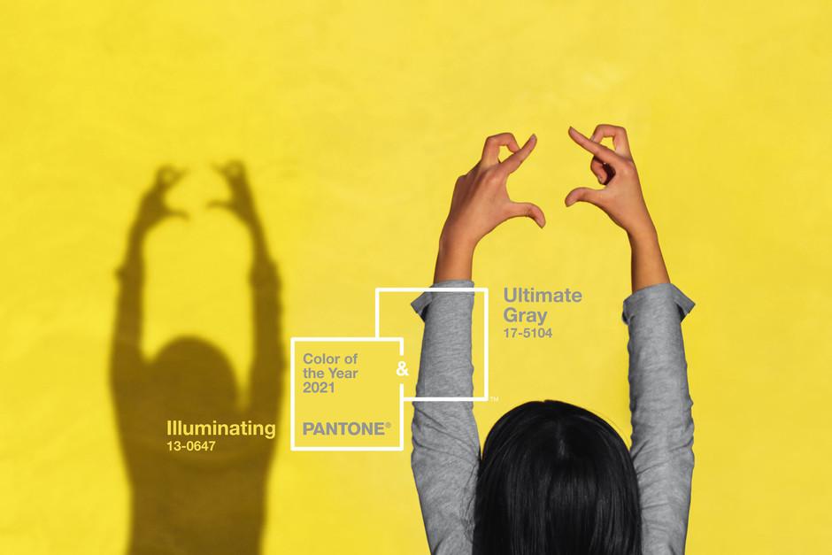 Pantone revela el color del año 2021: Ultimate Gray + Illuminating.